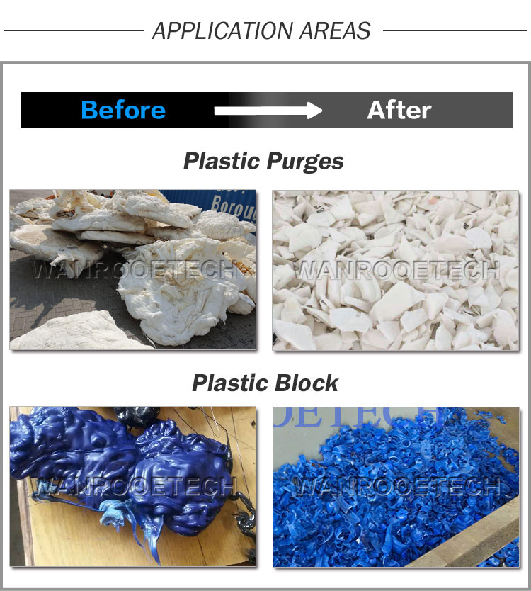 plastic shredder machine, plastic lumps shredder, plastic block shredder, used plastic lumps shredder, hard plastic shredder